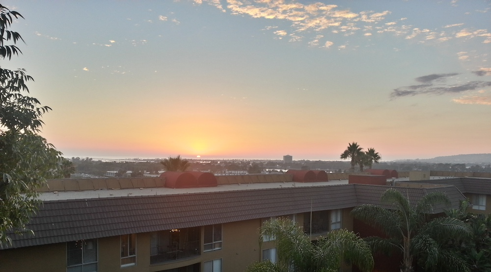 The Sunset from My Apartment
